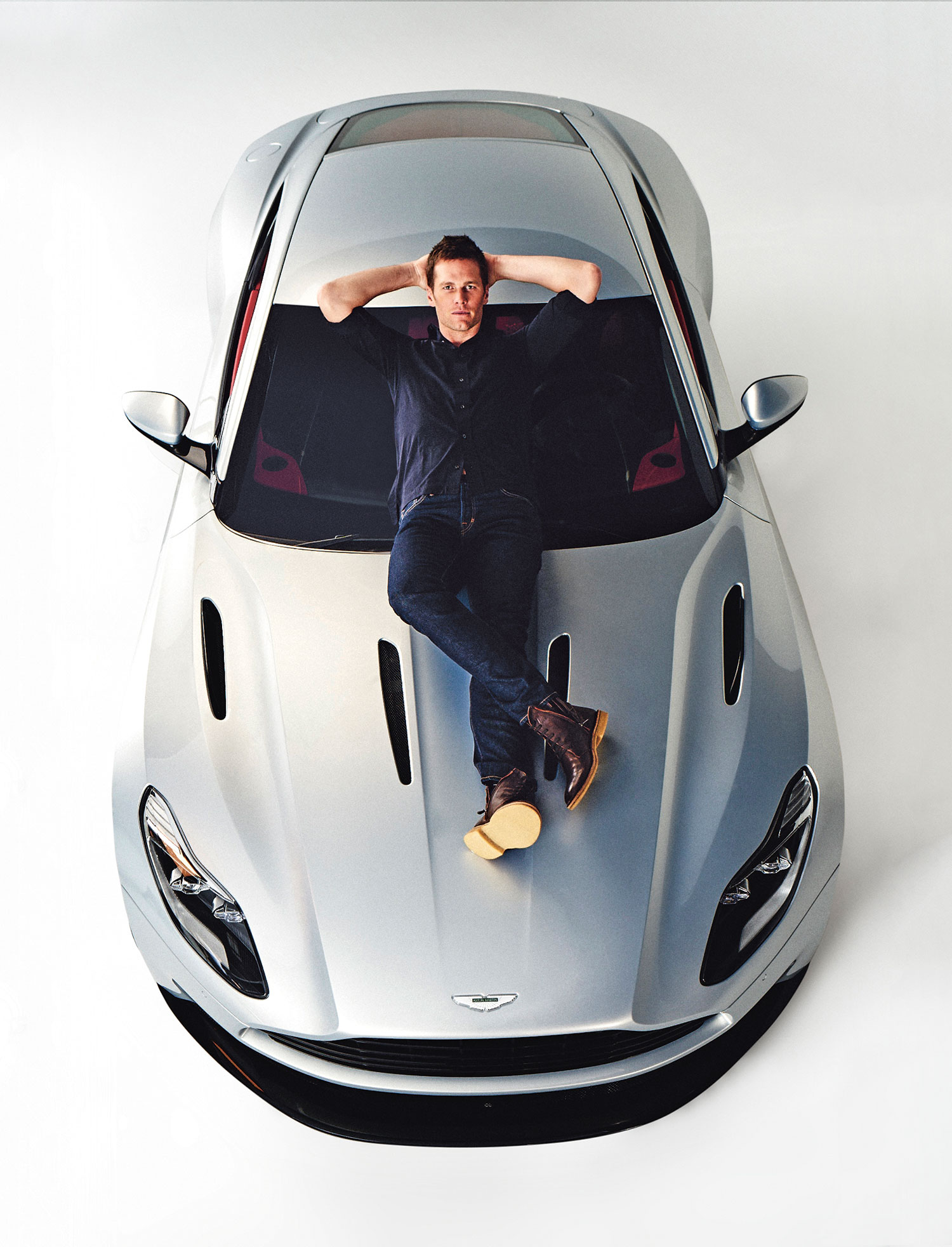 In A Different League Tom Brady X Aston Martin