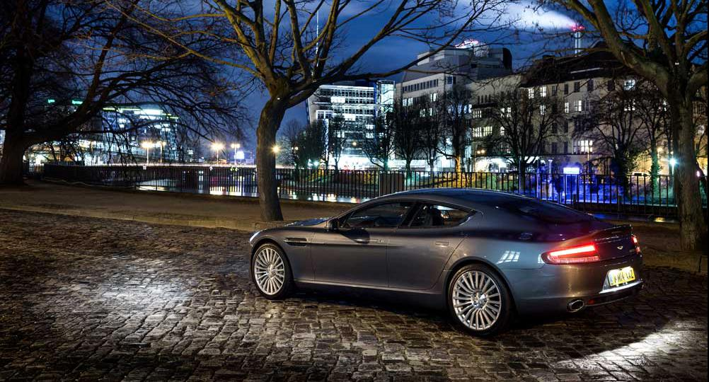 Berlin at Dusk: A Night Drive in Aston Martin's Rapide S