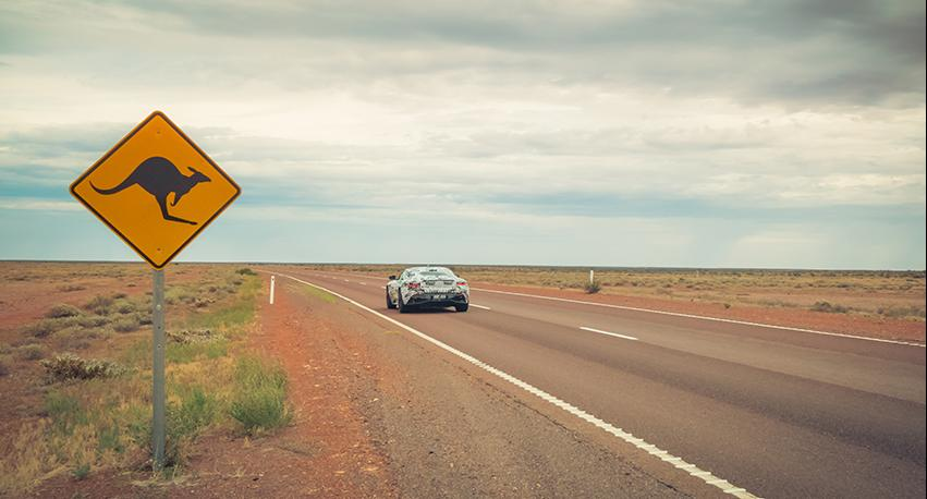 Test-Driving the Aston Martin DB11 in Australia and Lapland