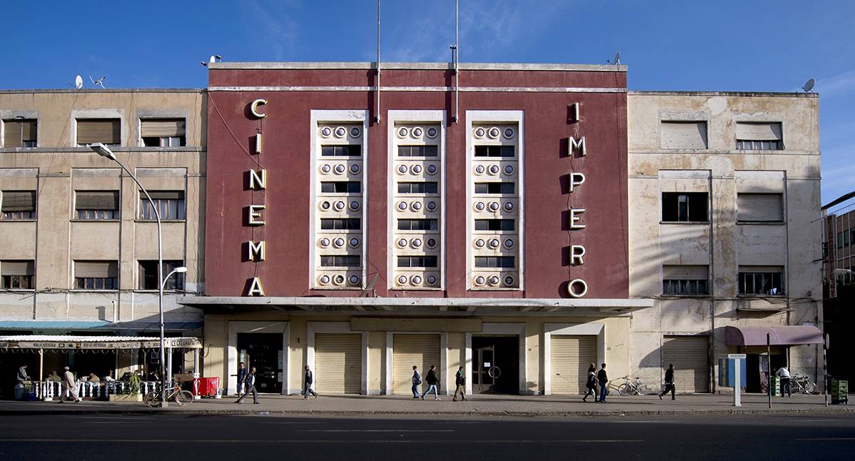 The Cinema Impero, built in 1937 by architect Mario Messina