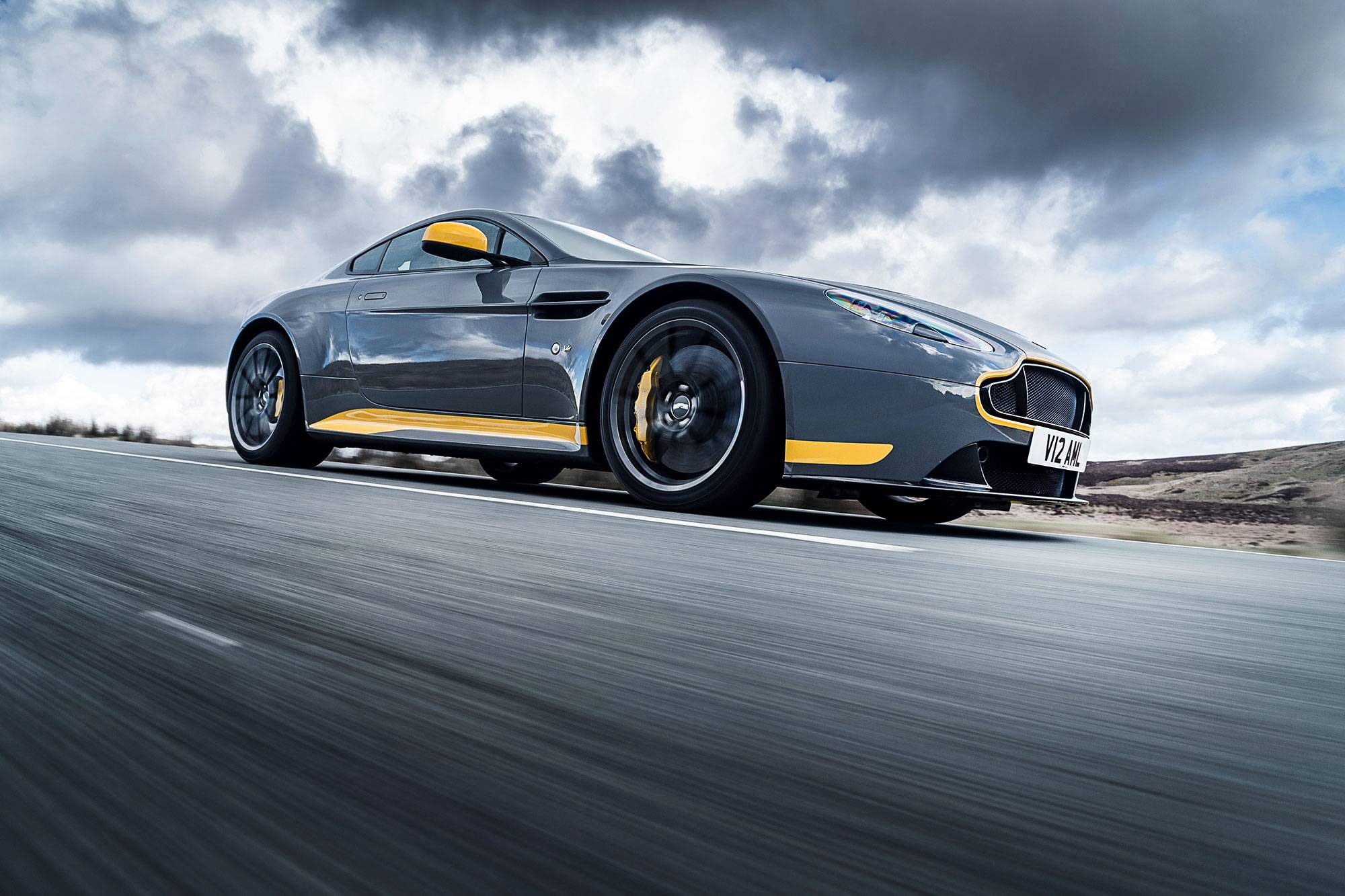 Gearbox Of Delights Driving The Aston Martin V12 Vantage S The
