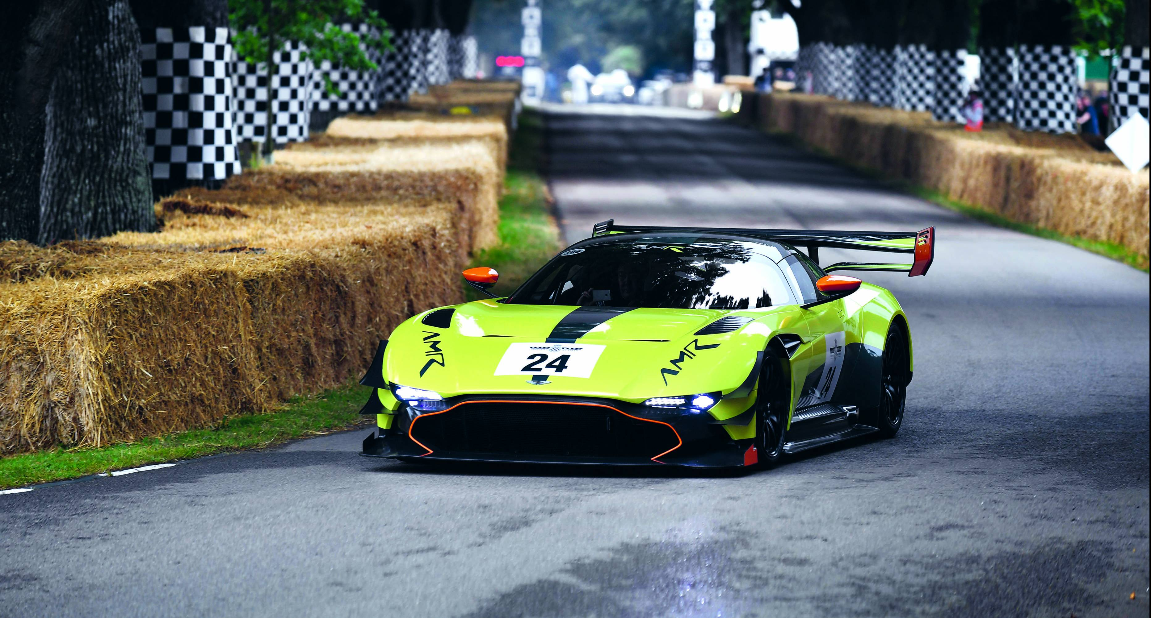 Roaring Success Aston Martin At Goodwood Festival Of Speed