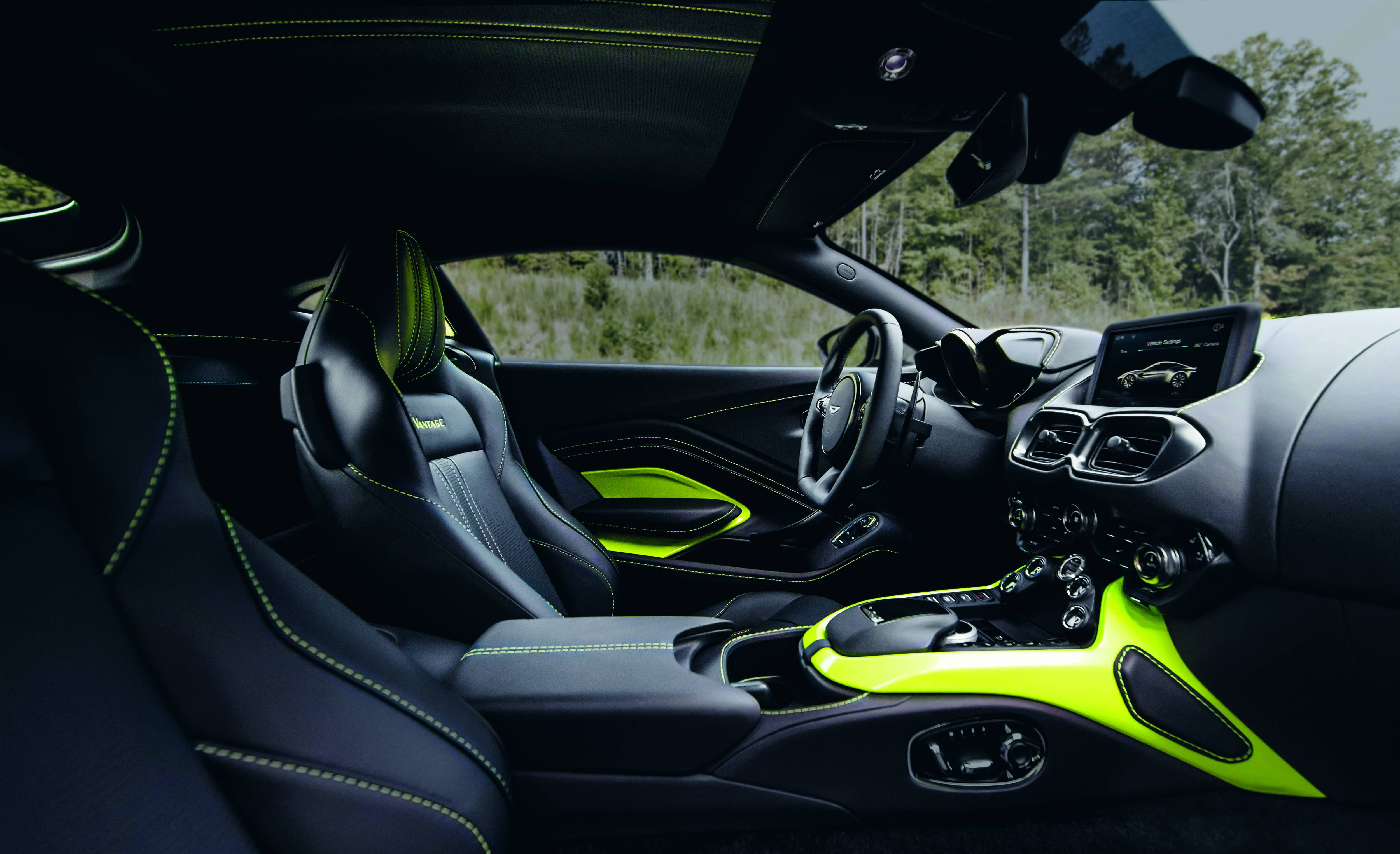 Stripped For Action Presenting The New Aston Martin Vantage