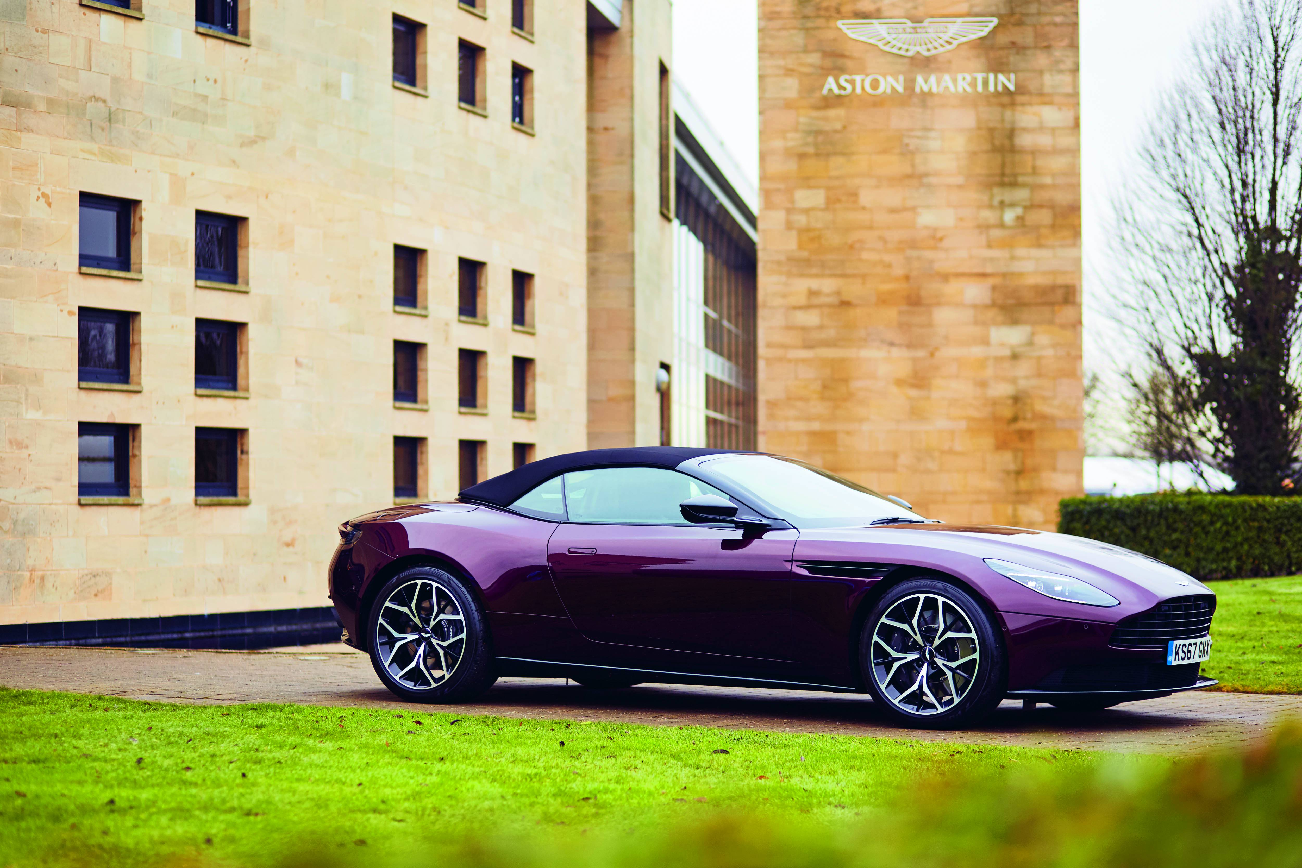 Breath Of Fresh Air The Db11 Volante Takes To The Road