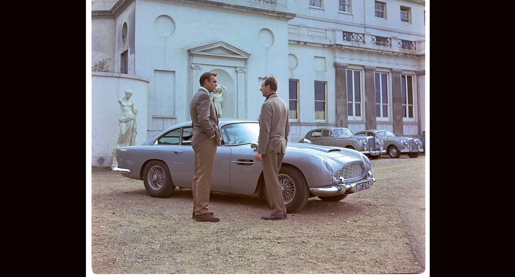 Making Of An Icon The Goldfinger Db5 Continuation